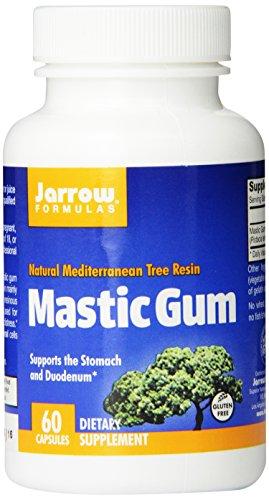 Jarrow Formulas Mastic Gum, apoya el estómago y el duodeno salud, 60 Caps