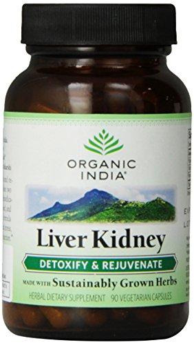 Organic India Liver Kidney Hígado 90 Caps