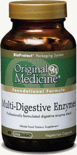 Original medicina Multi-enzimas digestivas (60 CAPS)