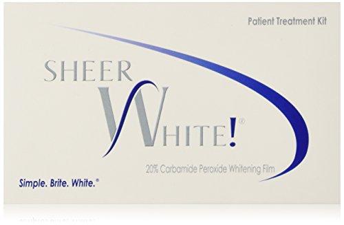 Blanco puro! Kit de películas de las tiras de blanqueamiento profesional 20%