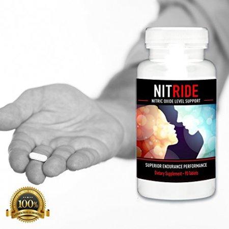 Tabletas para aumentar el Flujo de óxido nítrico en sangre 10 Tabletas