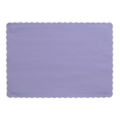 Toque creativo convertir 50 cuenta de manteles de papel de Color, deliciosa lavanda