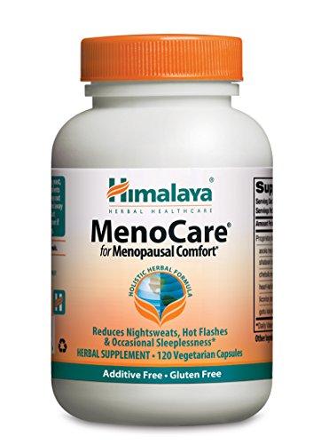 Himalaya Herbal Healthcare MenoCare, comodidad postmenopáusica, 120 Vcaps, 800 mg (paquete de 2)