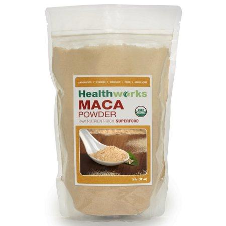 Healthworks Organic Raw Maca Powder 900 gramos