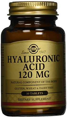 Comprimidos de ácido hialurónico de Solgar, 120 mg, 30 cuenta