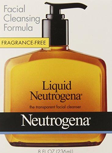 Libre de fragancia de Neutrogena fórmula limpiadora líquida, Facial, 8 onzas