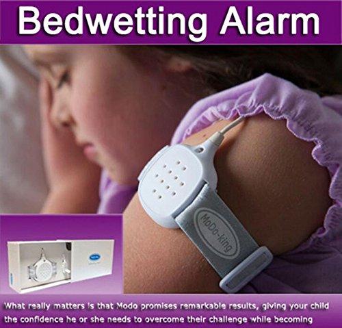 Hailicare enuresis alarma como bebé Audio Monitor Enuresis orinarse en la cama de alarma de seguridad para niños niños bebé