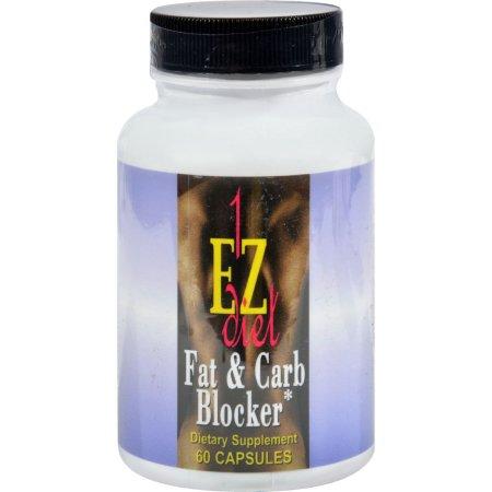 Maximum International 1-EZ Fat y Bloqueador de carbohidratos - 60 Cápsulas - (Pack de 2)