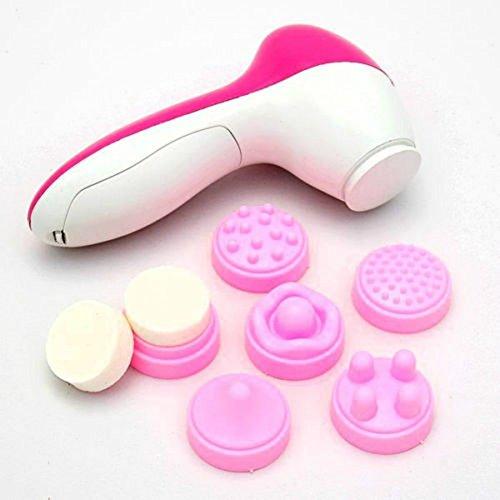 Limpieza cepillo Spa piel cuidado masaje del Facial de cara eléctrica multifunción 6-1