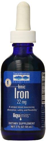 Trazas minerales investigación hierro iónico líquido 22mg - 1.42 fl.oz