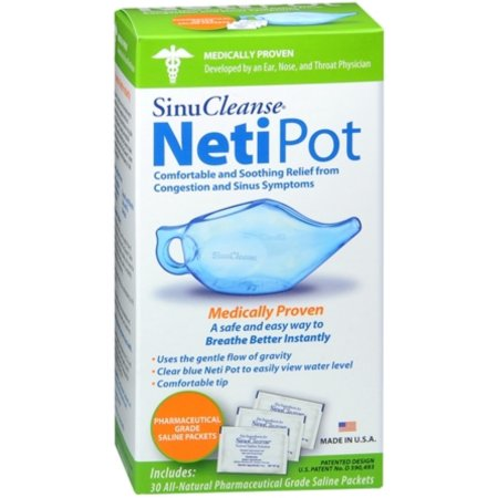 SinuCleanse Neti Pot 1 Cada (Pack de 2)