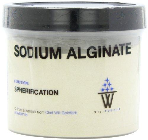 WillPowder sodio alginato, envase de 16 onzas