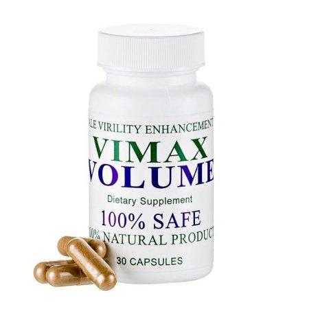 Vimax píldoras del volumen de semen masculino Aumentador de Climax Deseo Sexual 30 Caps Exp 08-17