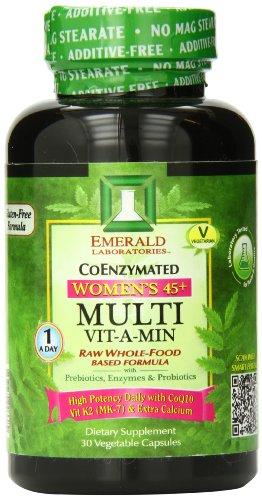 Laboratorios Esmeralda A-día mujeres 45 Plus Multi vitamina, cuenta 30