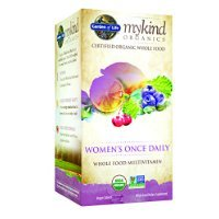 Una vez diario Multi jardín de la vida mykind orgánicos femenino, 30 tableta orgánico