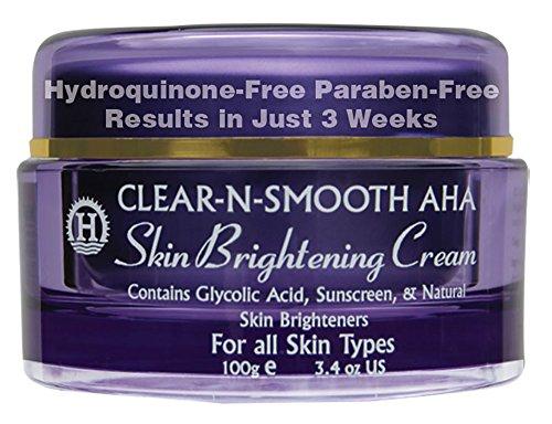 Piel suave brillo Crema: Aligeramiento de la piel y blanqueamiento de 4 Extracto de planta Natural aclarantes de la piel y agentes exfoliantes. Efectivo caja fuerte blanqueo sustituto a hidroquinona Even Skin Tone