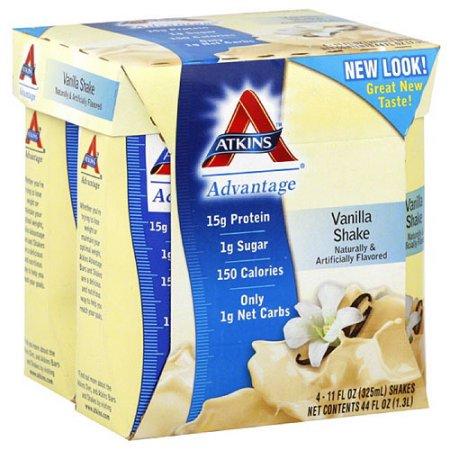 Atkins Nutritional Shake Vainilla recuento de CD4 (paquete de 6)