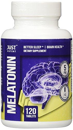 Melatonina de calidad farmacéutica por sólo potentes:: 5mg tabletas:: dormir mejor:: salud del cerebro:: cuenta 120:: acción rápida y no-la formación de hábito de sueño ayuda!