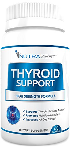 La tiroides ayuda suplemento - #1 Premium fórmula para aumentar metabolismo, pérdida de peso de apoyo, aumentar la energía, concentración Mental y concentración. Con yodo (Kelp), Zinc, L-tirosina, vitamina B12, Ashwagandha, fuco - garantía de satisfacción