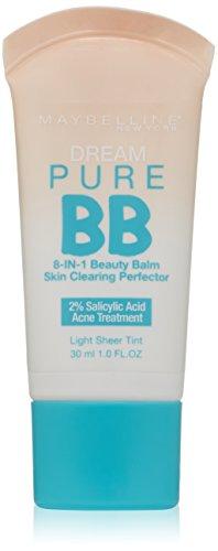 Maybelline New York sueño puro BB crema de la piel limpiar Perfeccionador, luz, 1 onza líquida
