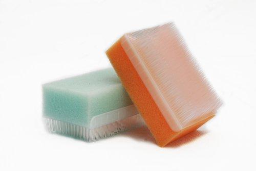 Cuero cabelludo 3-pk de esponja, cepillo de cerda estéril esponja