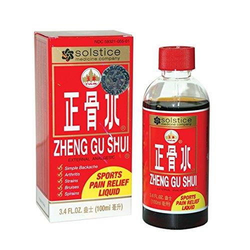 Zheng Gu Shui externo loción analgésica - 3.4 fl oz (100ml) - 9 botellas