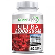 NUTRISUPPZ ULTRA BLOOD SUGAR SUPLEMENTO PARA DIABETICOS 60 CAPS