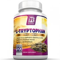 BRI NUTRITION L TRYPTOPHAN EXCELENTE CALMANTE NATURAL 120 CAPS