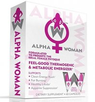 ALPHA WOMAN FAT BURNER QUEMADOR DE GRASA PARA MUJERES 60 CAPS