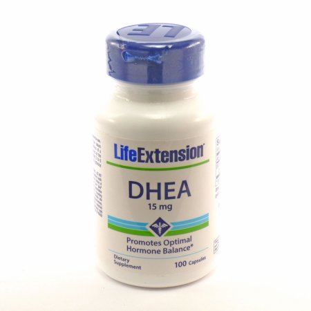 DHEA 15mg Por Life Extension - 100 Cápsulas