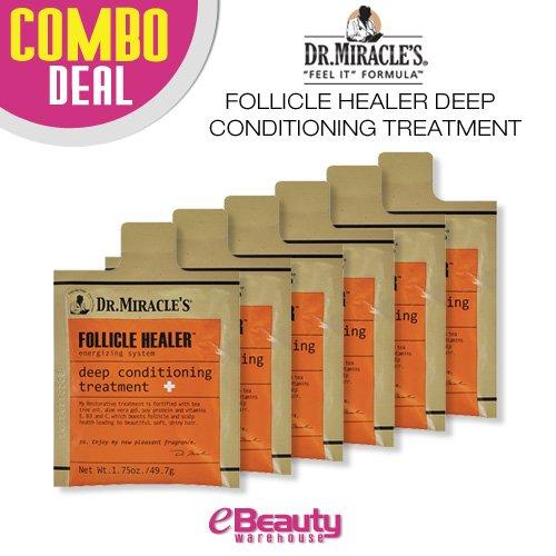 6 combo oferta! Folículo sanador profundo acondicionado tratamiento Dr. Miracle