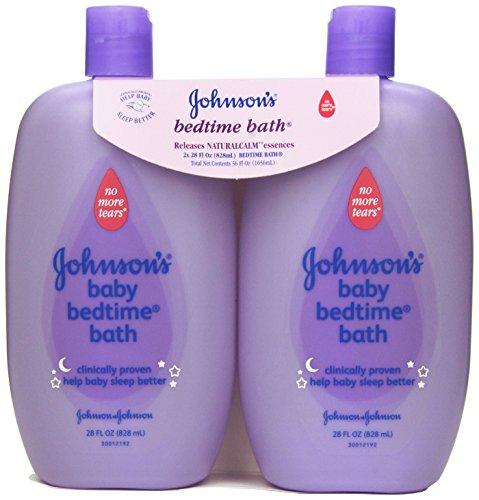 Baby baño antes de dormir de Johnson, 28 onzas (paquete de 2)
