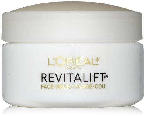 L ' Oreal París Advanced RevitaLift rostro y cuello crema de día, 1,7 onzas