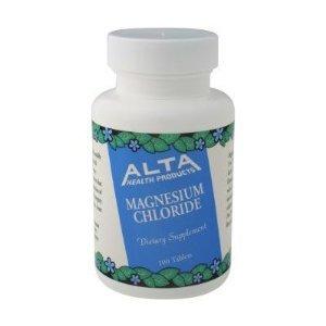 Alta Health magnesio Cloruro tabletas, cuenta 100