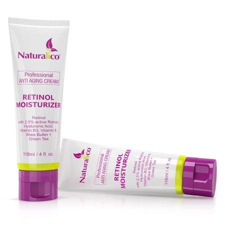 Cuidado de la Piel Anti-Envejecimiento Tratamiento de arrugas crema Retinol hidratante cara Por  -67% Fórmula orgánica de 25%