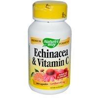 Las naturalezas manera Equinacea con vitamina C 100 cápsulas