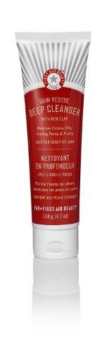 Primeros auxilios belleza piel rescate limpiador profundo con arcilla roja - oz 4,7