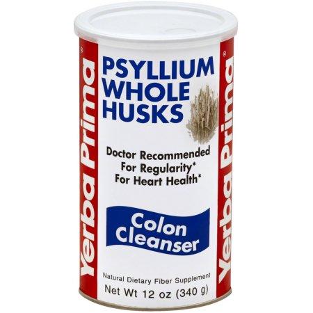 Yerba Prima Psyllium enteros cascarilla limpiador de colon 360 mg x 3 Frascos
