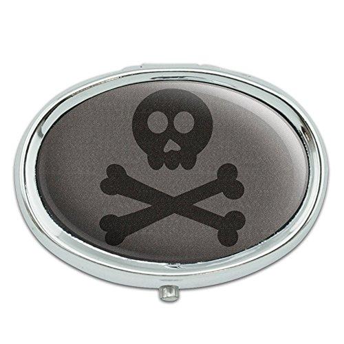 Hasta Skull and Crossbones nos separe Metal Oval caso pastillero