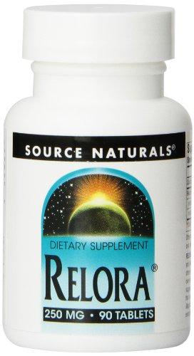 Source Naturals Relora, 250mg, 90 tabletas