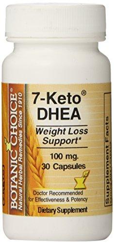 Opción botánica 7-KETO DHEA cápsulas, cuenta 30