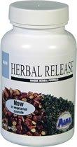 Lanzamiento Herbal objetivo para limpieza linfática - 60 cápsulas de vegan