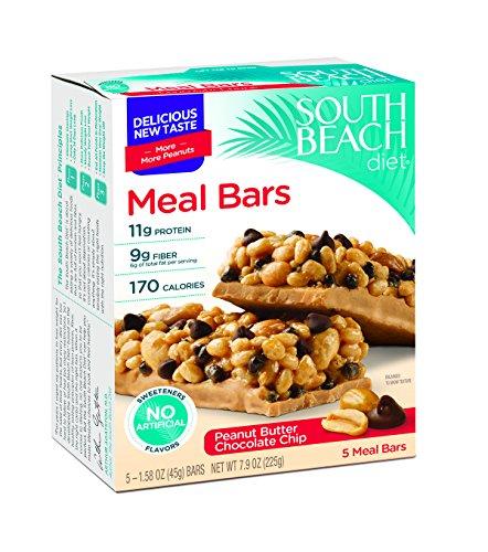 South Beach dieta comida bares, Chocolate Chunk, 1,58 oz, cuenta 5