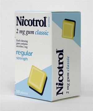 Piezas de goma 2mg Original Classic 6 cajas 630 de nicotina Nicotrol