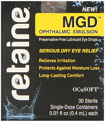 Retaine MGD emulsión oftálmica conservantes gotas 30 envases monodosis