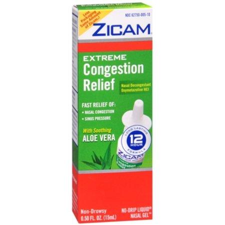 Zicam extrema congestión Relief Liquid Nasal Gel 050 oz (Pack de 2)