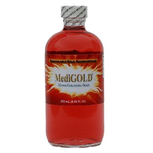 MediGOLD (20 ppm verdadero oro coloidal) - 250 mL vidrio