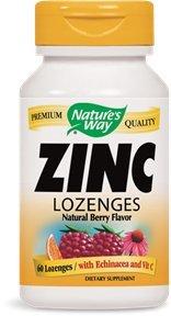 Zinc/equinácea y manera 60 pastilla vitamina C pastillas-Berry sabor natural