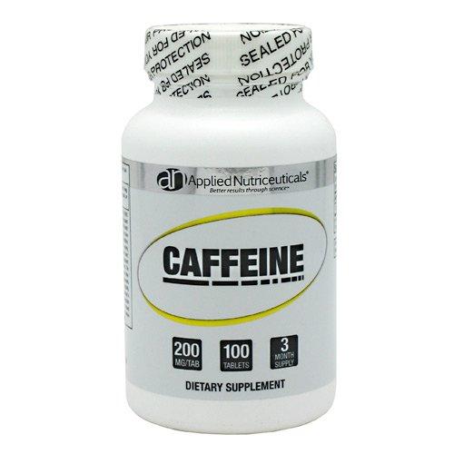 Cápsulas de cafeína de Nutriceuticlas aplicada, 200 mg, 100 cuenta