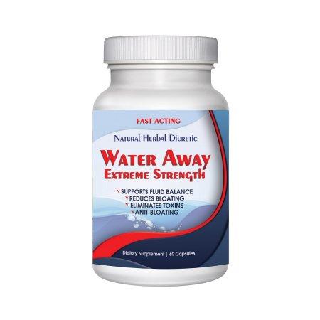 Totally Products agua lejos de la píldora Natural Diurético agua (60 cápsulas)